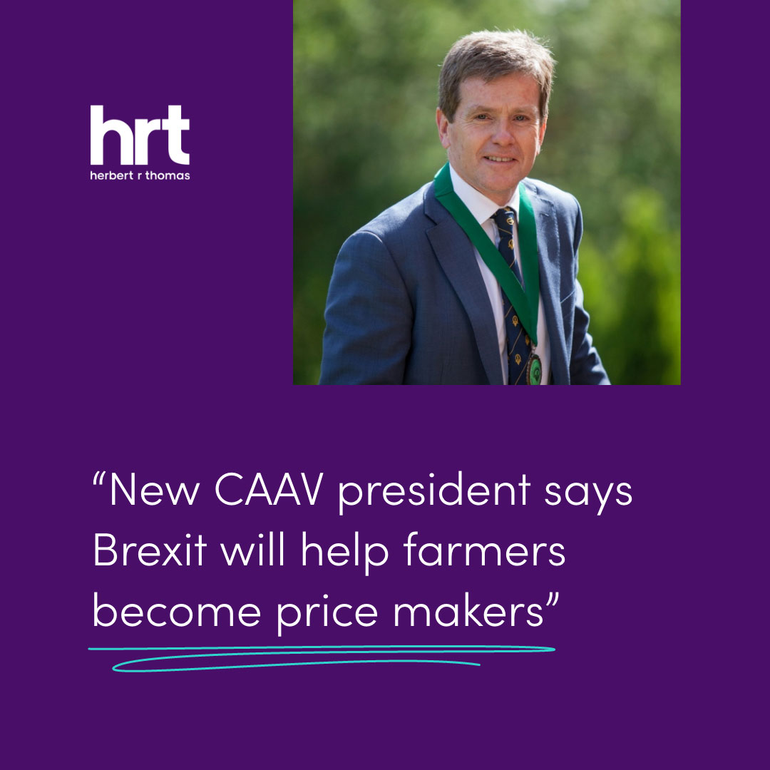 Andrew Thomas, HRT Director and CAAV President, on the future of the Welsh farming industry