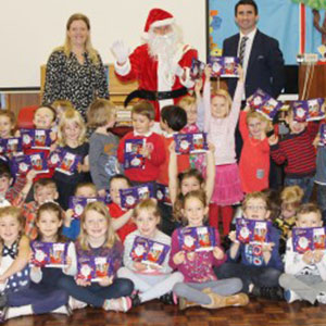 HRT brings festive cheer to primary school pupils